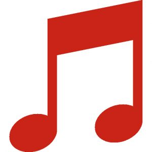 music-red