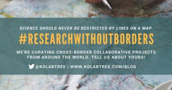 #Researchwithoutborders: Curating interdisciplinary, cross-border collaborations from around the world