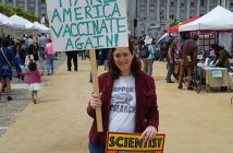 Vaccinate march