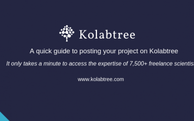 How to post a project on Kolabtree
