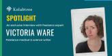 Redactora de contenidos médicos independiente Victoria Ware