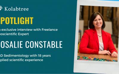 Spotlight : Rosalie Constable, géoscientifique indépendante